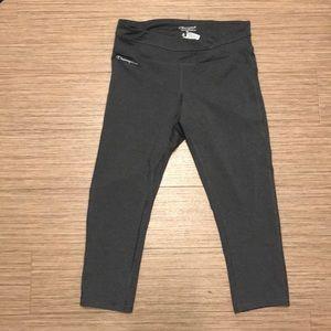 Champion grey capri leggings size medium